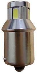 Canbus LED R5W / R10 Rood - let op per stuk