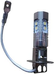 LED grootlicht H3 10w wit 6000k