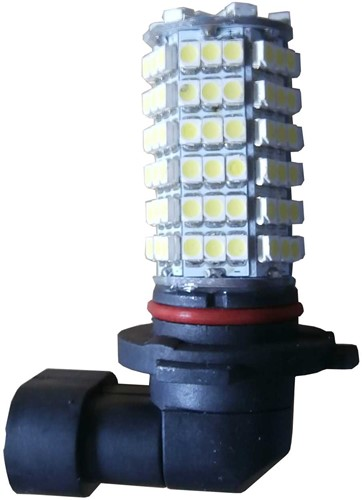 120 SMD HB3 LED mistlicht-Wit