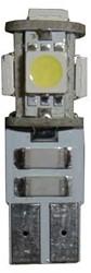 5 SMD Canbus LED Stadslicht motor W5W T10