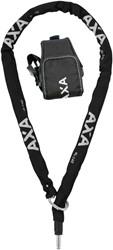 AXA Plug-in ketting  RLC zwart 140cm ø5,5mm