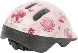 Polisport Baby Helm Birdy 44/48cm creme/roze