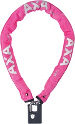 AXA Kettingslot Clinch 85cm ø6mm roze