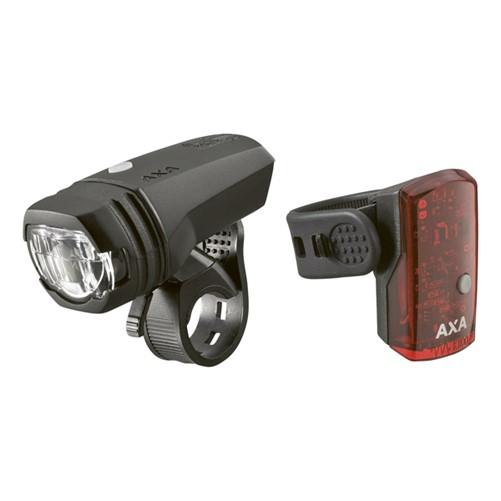 AXA Set Greenline 50lux LED USB