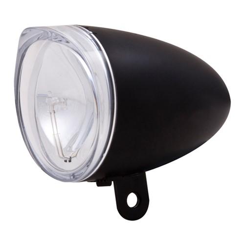 Spanninga Voorlicht Trendo Dynamo zonder kabel zwart