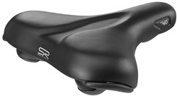 Selle Royal Fietszadel unisex Rio Plus City zwart