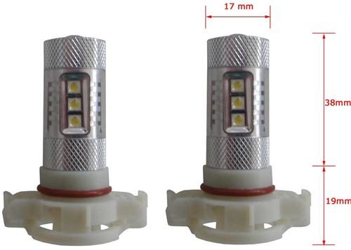 LED dagrijverlichting H16-PS19w/50w-2