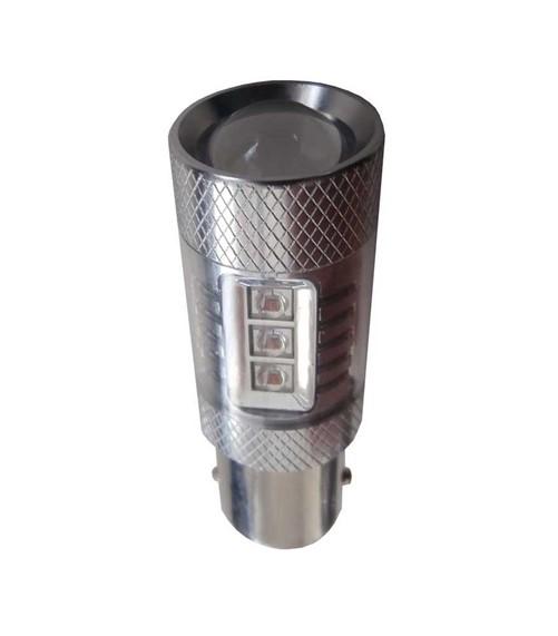 50w Canbus LED mistlicht BA15s - Rood - LET OP enkele lamp