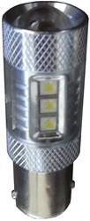 BAZ15d / P21-4w 50w Canbus LED remlicht / achterlicht wit