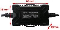Canbus LED dimlicht - HiR2 / 9012 - 6000k-3
