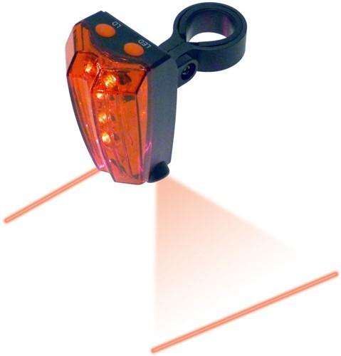 Achterlicht met laser