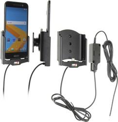 Brodit houder/lader HTC 10 - fixed instal.