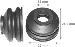 Fuseerubbers 33x24.5mm G15