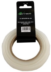 4 Connect Shrinkable tube with glue,  2:1 kirkas 10mm 3m