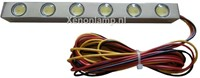 6 HighPower LED dagrijverlichting chrome-1