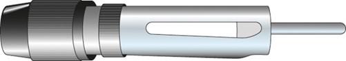 Carcoustic Antenne Reparatiestekker DIN schroefaansluiting