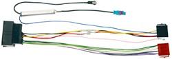 Carcoustic ISO Kabel Citroen/Peugeot + Aerial Din