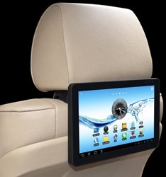 "m-use Backseat 10,1"" WiFi Display ANDROID 4.2.2 Tablet"