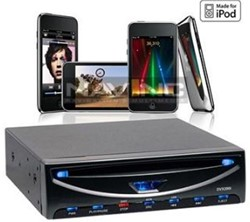m-use DVD speler 3/4 din met USB