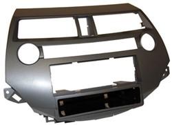 1-DIN frame, Honda Accord 08 > zonder dual airco antraciet