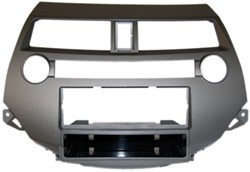 1-DIN frame, Honda Accord 08 > zonder dual airco bruin/grijs