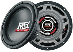 "MTX RT12-44 Roadthunder 12"""" Subwoofer dual 4 Ohm"