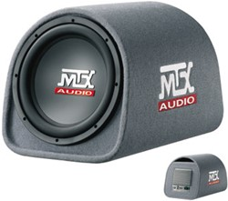 "MTX RT12PT Roadthunder 12"""" powered tube 150W rms"