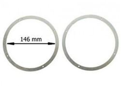 Luidsprekerringen, UPGRADE stalen ringen 165mm schuimrubber