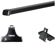 Thule dakdragers Renault Clio Hatchback 2013