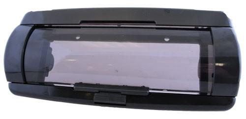 1-DIN FRAME zwart/ met waterdichte afscherming