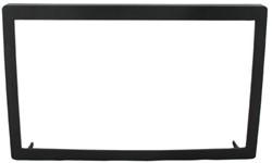 ECO 2-DIN FRAME  110mm Universeel zwart