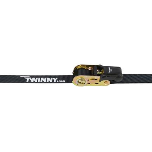 Twinny Load Spanbanden met Ratel en haken 5mtr x 25mm 2 stuks