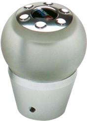 Pookknop -LED- met blauw licht