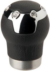 Pookknop -Carrera- zwart