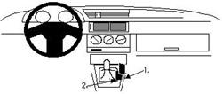 Proclip Alfa Romeo 155 92- wood console