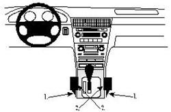 Proclip Acura RL 97-           console