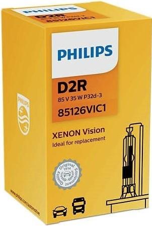 Philips Xenon Vision D2R 4600K - 85126VIC1-3
