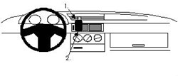 Proclip Alfa Romeo 155 92-