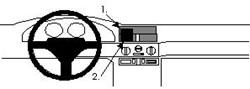 Proclip Alfa Romeo 145  94-