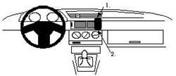 Proclip Alfa Romeo 155 92- wood angled