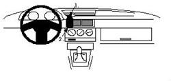Proclip Alfa Romeo 155 92- wood
