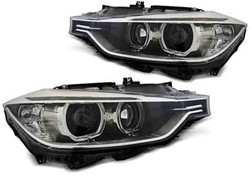 BMW F30/F31 10.11-05.15 Black LED Angel Eyes Unit