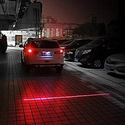LED HighPower Laser Mistlicht Rood