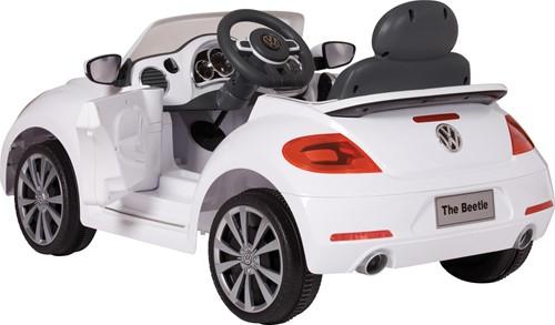 Accu-Auto Volkswagen Beetle Wit - 6V - incl. MP3 - vanaf 3 jaar-1