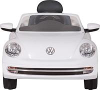 Accu-Auto Volkswagen Beetle Wit - 6V - incl. MP3 - vanaf 3 jaar-3