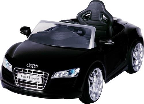 Audi R8 Zwart - 6V - incl. MP3 en afstandsbediening-2