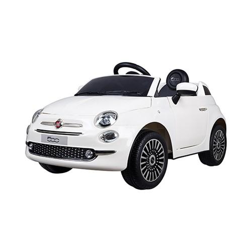 E-Car Fiat 500 Wit