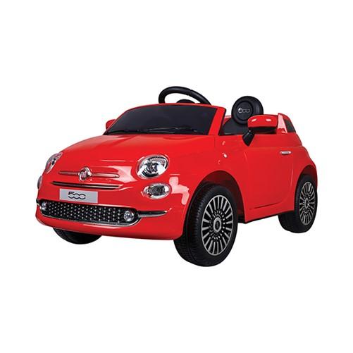 E-Car Fiat 500 Rood