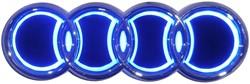 LED logo - Audi - Blauw