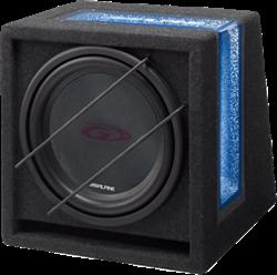 Alpine SBG-1044BR Subbox